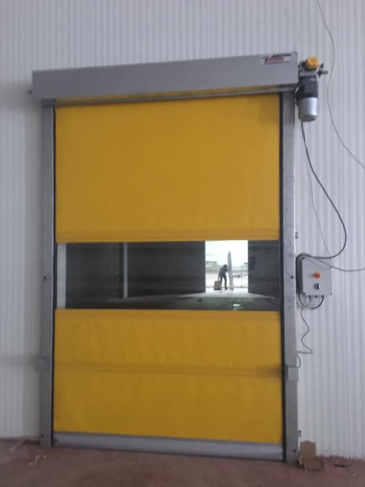 hızlı tip PVC Kapı