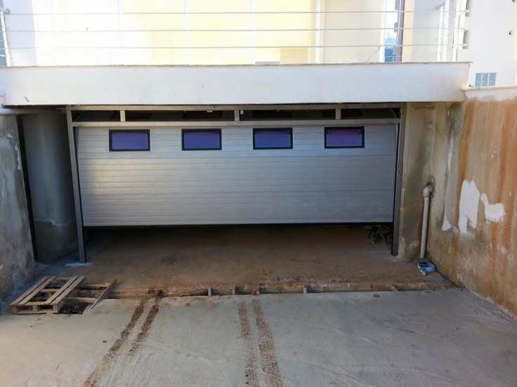 seksiyonel garaj kapısı